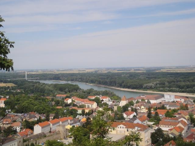 Vue depuis Hainburg